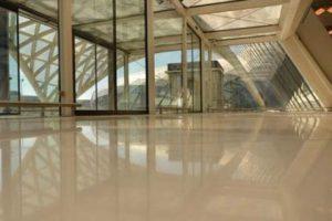 Jost-Diamanttechnik, polierter Betonboden